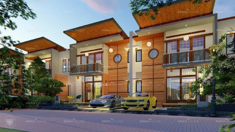 Hunian Rumah Model Japan sangat Eksotis di Bandung - 3