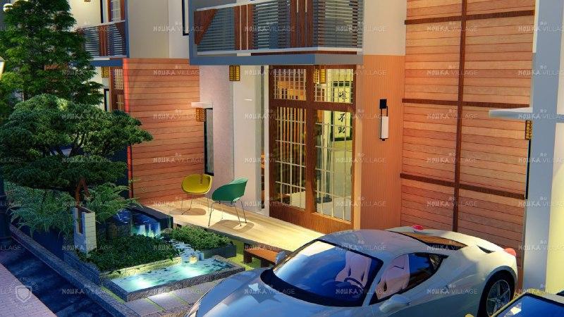Hunian Rumah Model Japan sangat Eksotis di Bandung - 4