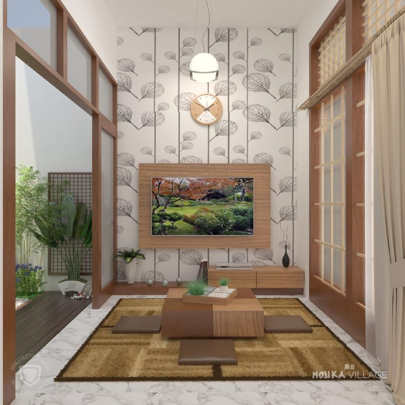 Hunian Rumah Model Japan sangat Eksotis di Bandung - 6
