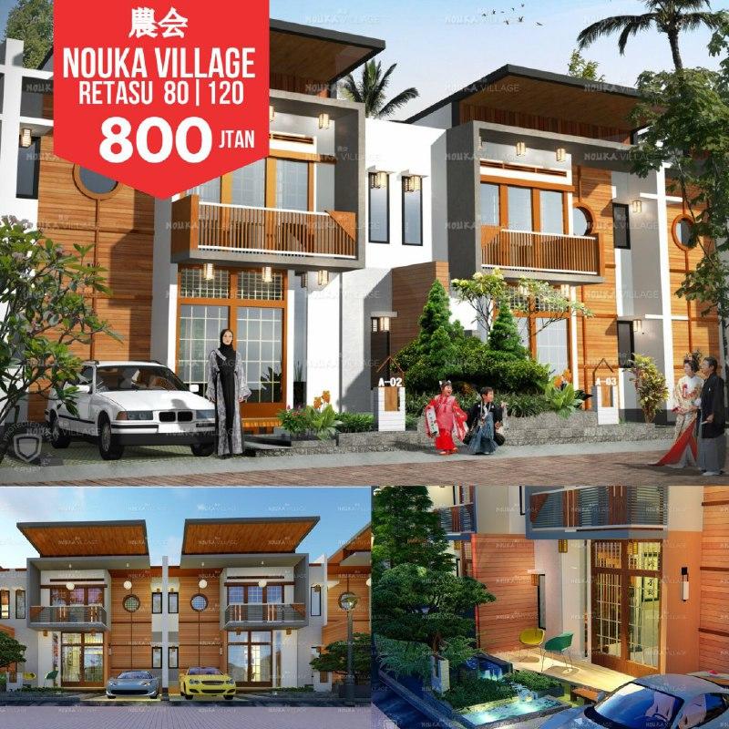 Hunian Rumah Model Japan sangat Eksotis di Bandung - 2