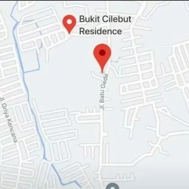 Dijual TANAH MURAH Lokasi Strategis di Jl Batugede - CILEBUT - BOGOR - 2