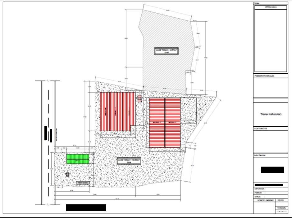 Dijual Cepat Ex- Pabrik Aspal terhitung tanah sj (Luas 1,8 Ha) di Kawasan Karawang Timur, hanya 34,5 M(nego) - 3